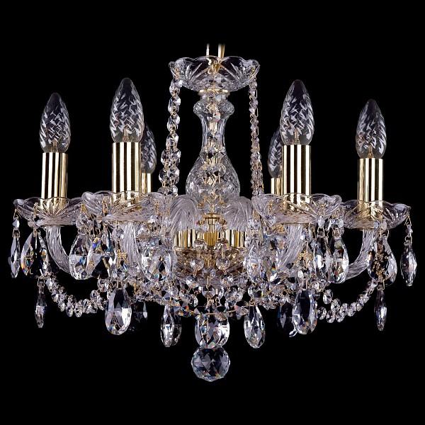 Подвесная люстра 1402/6/141/G Bohemia Ivele Crystal  (BI_1402_6_141_G), Чехия