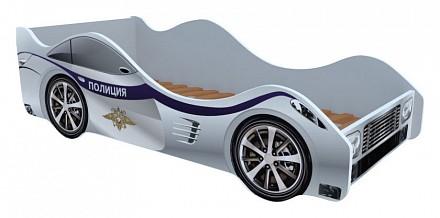 Кровать-машины Полиция KMA_M007