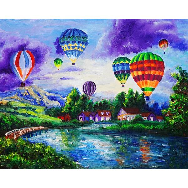 Картина (50х40 см) Воздушные шары HE-101-581 фото