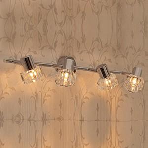 Спот поворотный Герда, 4 лампы G9 по 40 Вт., 8.89 м², цвет неокрашенный глянцевый