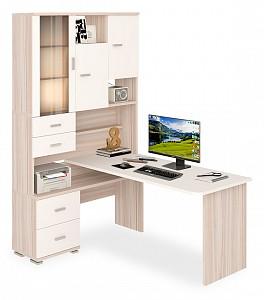 Компьютерный стол угловой Домино MER_SR-620-160_KBEBE-LEV