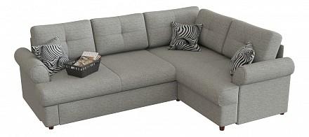 Угловой диван-кровать Мирта (Милфорд) Дельфин