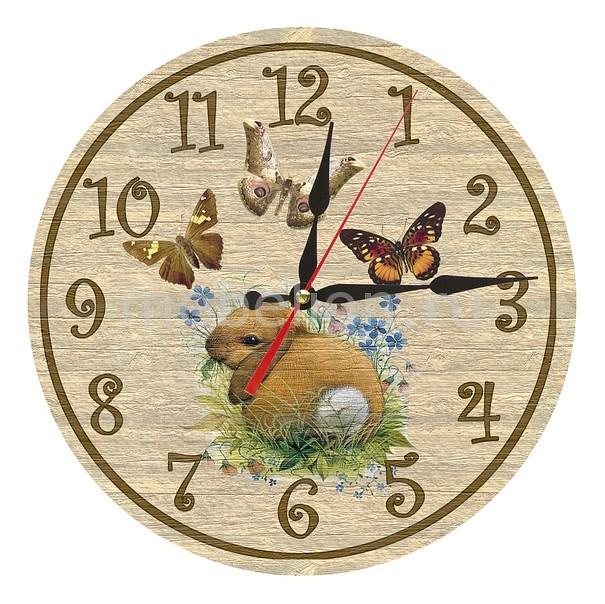 Настенные часы Акита (30 см) Зайчик AC15 цена и фото