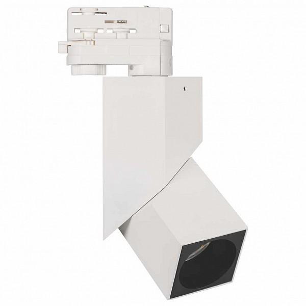 Светильник на штанге Lgd-Twist 1 LGD-TWIST-TRACK-4TR-S60x60-12W Warm3000 (WH-BK, 30 deg)