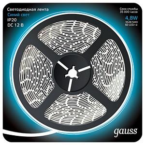 Лента светодиодная Gauss 312000505
