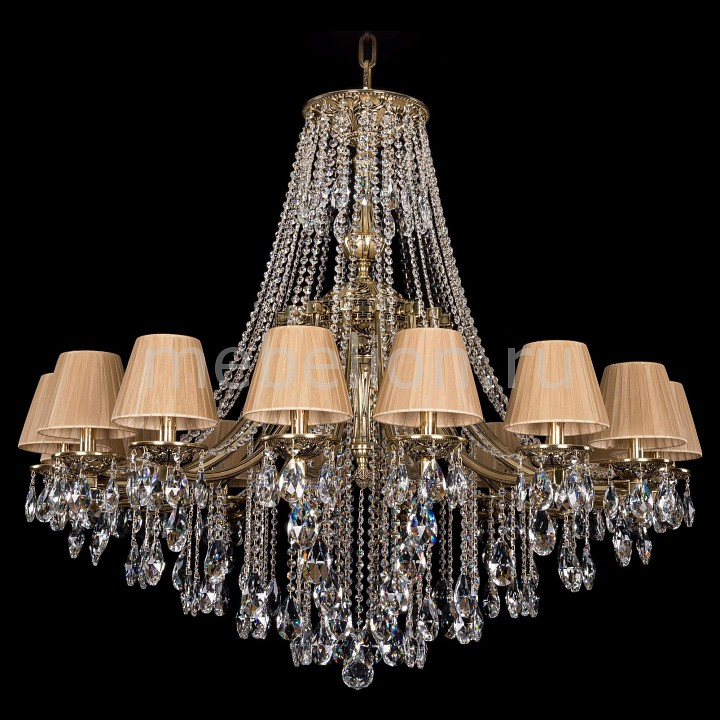 Купить Подвесная люстра 1771/16/410/B/GB/SH37-160, Bohemia Ivele Crystal