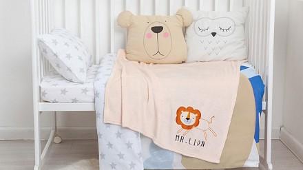 Плед детский (90x100 см) Mr. Lion