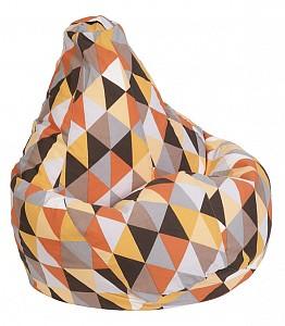 Кресло-мешок Янтарь Жаккард L