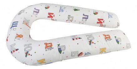 Подушка для беременных (110x60 см) Азбука