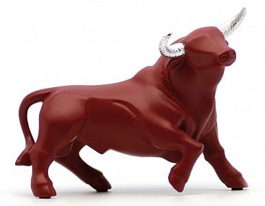Статуэтка (17.5 см) Средний черный бык 733640