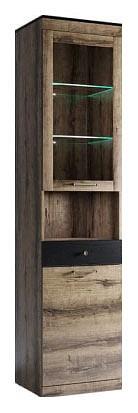Шкаф-витрина Jagger 1V1D1SN