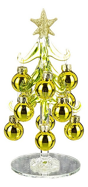 цена на Ель новогодняя с елочными шарами АРТИ-М (15 см) ART 594-002