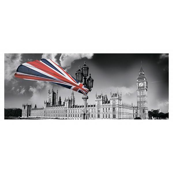 Картина (50х20 см) Британский флаг HE-101-535 фото