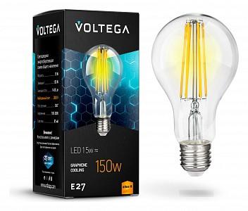 Лампа светодиодная Crystal E27 220В 15Вт 2800K VG10-A1E27warm15W-F
