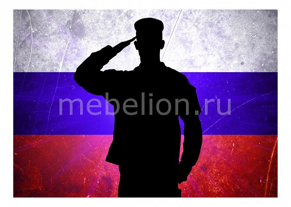 Панно Ekoramka (70х50 см) Служу России 1706026К7050