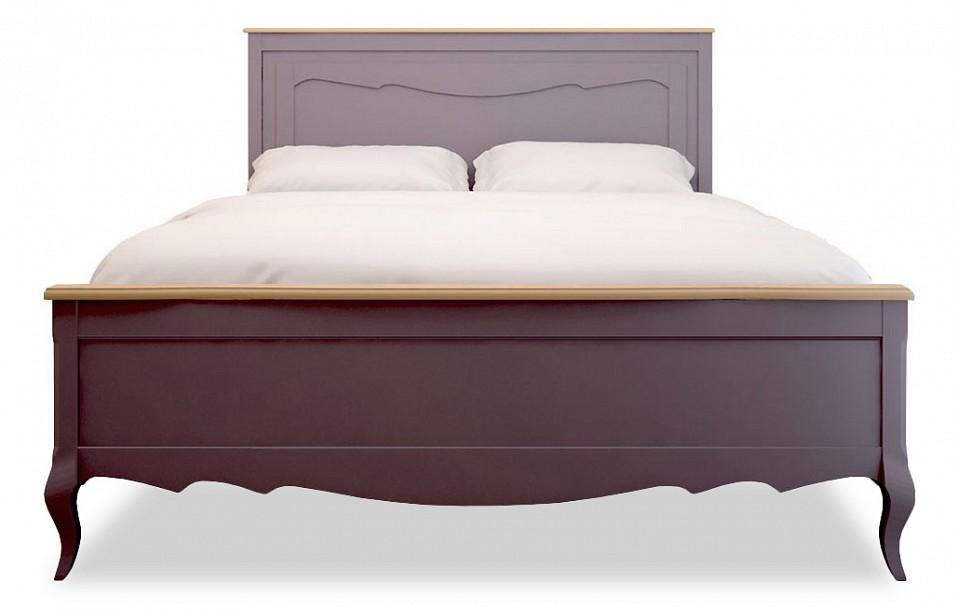 Купить Кровать двуспальная Leontina lavanda, Этажерка