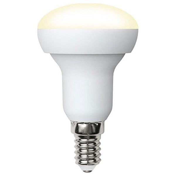 Лампа светодиодная R50 E14 175-250В 7Вт 3000K LED-R50-7W/WW/E14/FR/NR картон UL_UL-00003845
