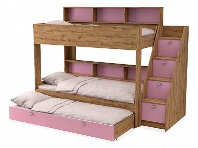 Кровать трехъярусная Golden Kids 10.1