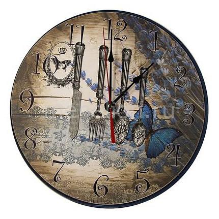 Настенные часы Акита (30 см) Ложки C1190 цена и фото
