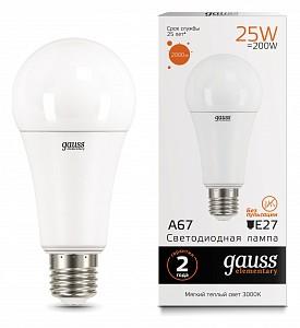 Лампа светодиодная E27 180-240В 25Вт 3000K 73215