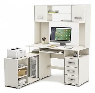 Компьютерный стол угловой Амбер-23 MAS_KSAM-23-BEL