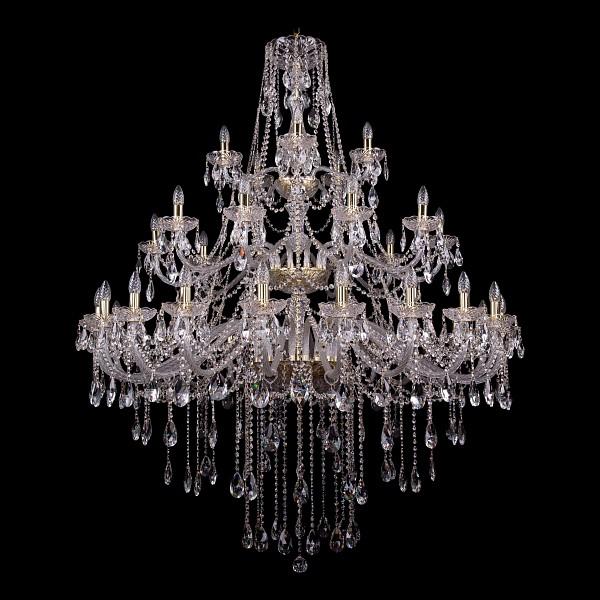 Подвесная люстра 1415/20+10+5/530-180/3d/G Bohemia Ivele Crystal 1415/20+10+5/530-180/G  (BI_1415_20_10_5_530_180_G), Чехия