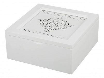 Шкатулка для чая (18x18x8.2 см) Арт 255-108