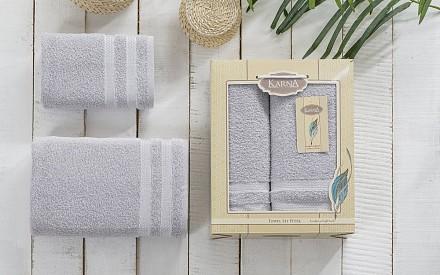 Набор из 2 полотенец для ванной PETEK