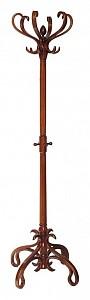 Вешалка-стойка В-4Н средне-коричневая