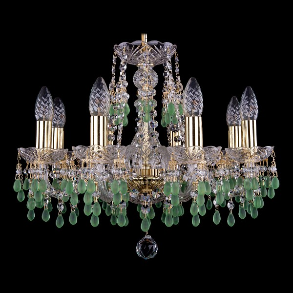 Подвесная люстра 1410/8/160/G/V5001 Bohemia Ivele Crystal  (BI_1410_8_160_G_V5001), Чехия