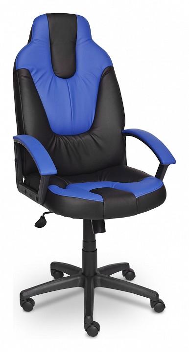 Игровое кресло Tetchair TET_neo2_black_blue от Mebelion.ru
