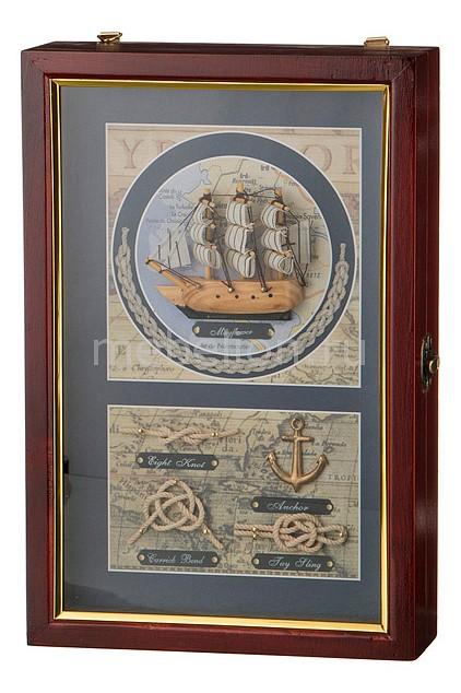 Ключница АРТИ-М (20х30 см) Парусник 271-135 панно арти м 47х33 см art 271 145