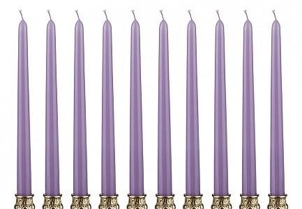Набор из 10 свечей декоративных 348-374