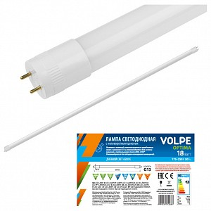 Лампа светодиодная [LED] Volpe G13 18W 4000K