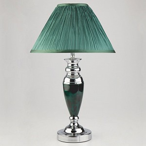 Настольная лампа декоративная 008/1T GR (зеленый)
