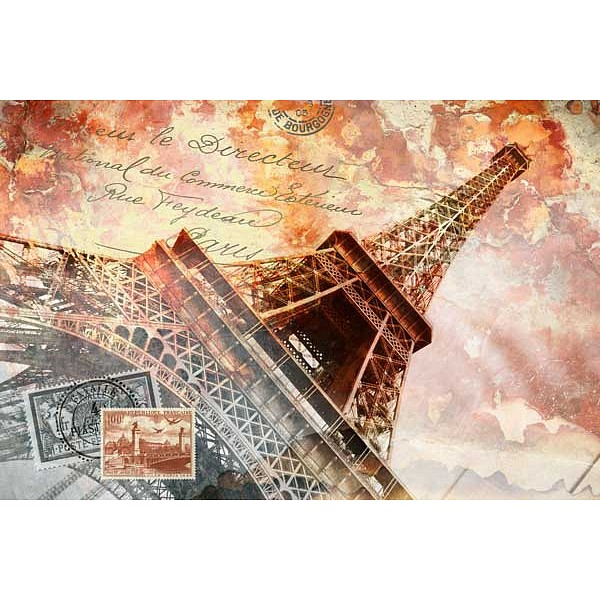 Картина (90х60 см) Винтажный Париж HE-101-922 фото