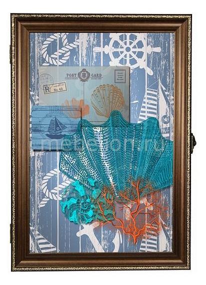 Ключница Акита (24х34 см) Морская тема 312-49 ключница акита 24х34 см keys n 49