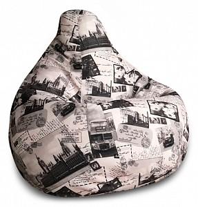 Кресло-мешок Лондон Жаккард L