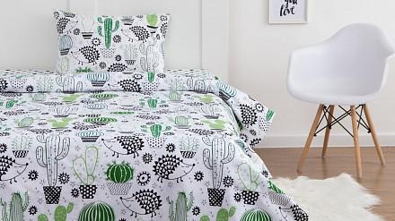 Постельное белье Ёжики и кактусы