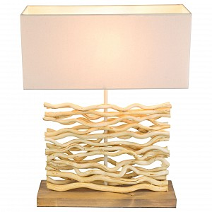 Настольный светильник из дерева Jamie GB_21647