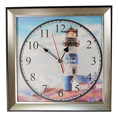 Настенные часы Акита (33.5х33.5 см) Маяк 3434-1