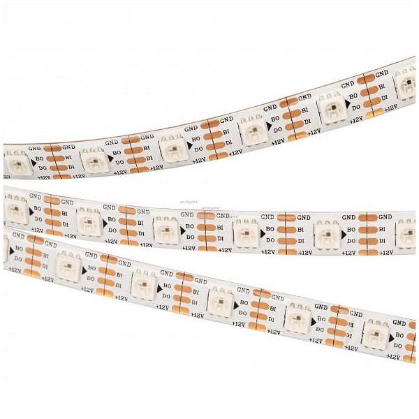 Лента светодиодная [5 м] SPI-5000SE-RAM 12V RGB (5060, 60 LED/m, x1, AM) 027614 ARLT_027614