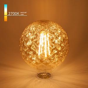 Лампа светодиодная [LED] Elektrostandard E27 8W 2700K