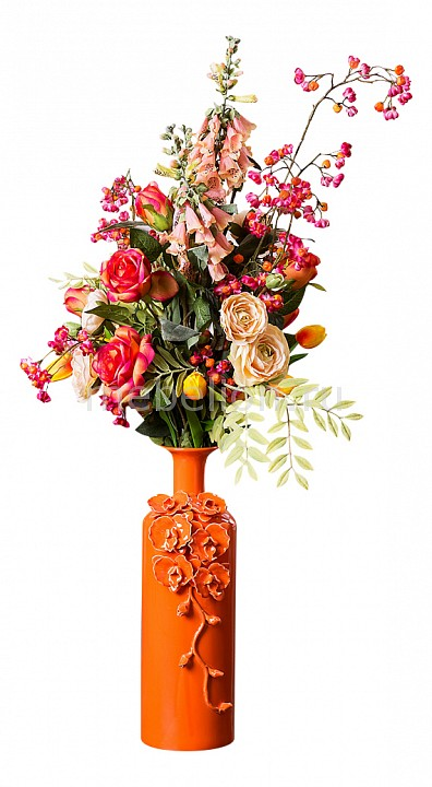 Букет АРТИ-М (105 см) Экзотик 23-1002 цветок искусственный home religion цветок 57 см тюльпан махровый 58014100