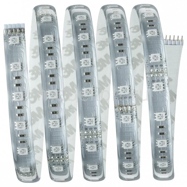 Купить Комплект с лентой светодиодной [1.5 м] MaxLED 70674, Paulmann, серый, полимер