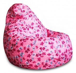 Кресло-мешок Розовые Бабочки Оксфорд L