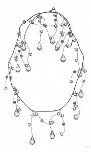 Елочная гирлянда (1.27м) 256-181