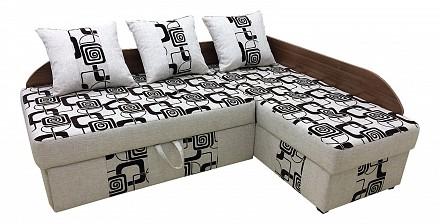 Угловой диван-кровать Поло Лайт Дельфин / Диваны / Мягкая мебель