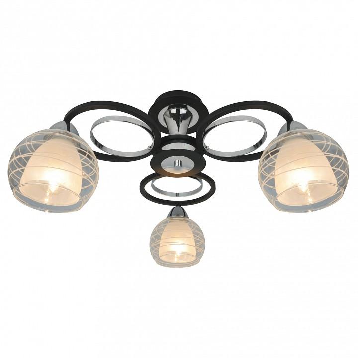 Купить Потолочная люстра Ginevra A1604PL-3BK, Arte Lamp, Италия