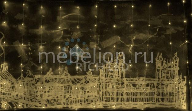 Светодиодный занавес RichLED RL_RL-WF3_2C4_1-T_WW от Mebelion.ru